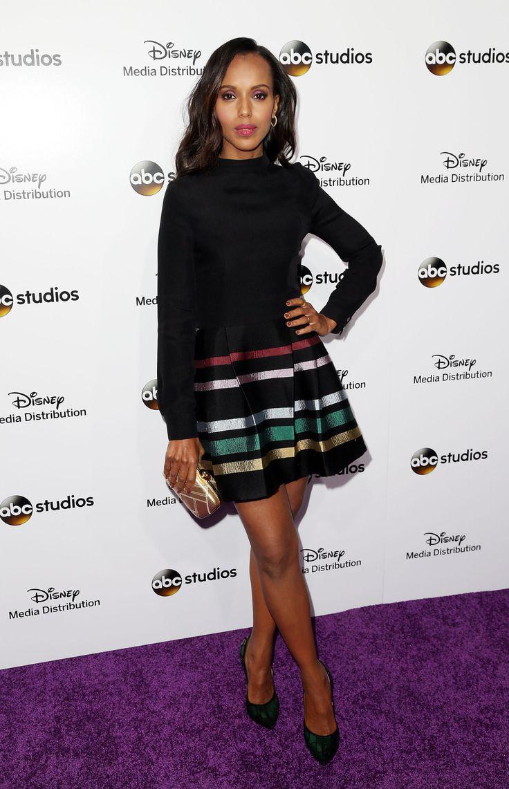 Kerry Washington attends Disney Media Disribution