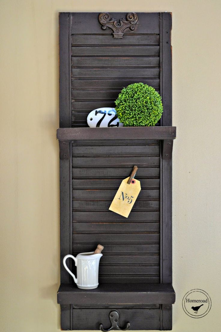 137 Best Repurpose Ideas For Shutters Images On Pinterest