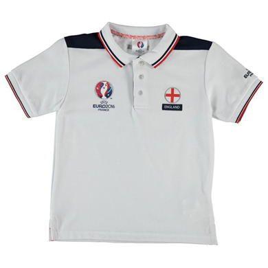UEFA EURO 2016   UEFA EURO 2016 England Polo Shirt Junior   Kids Polo Shirts