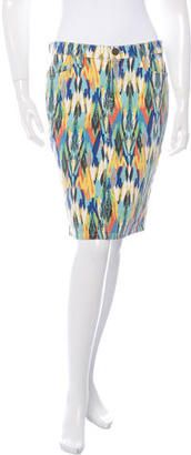 Shop Now - >  https://api.shopstyle.com/action/apiVisitRetailer?id=606947040&pid=uid6996-25233114-59 Current/Elliott The Stiletto Pencil Printed Skirt  ...