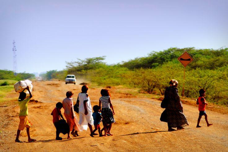 Bringing It All Back Home. (Guajira Desert)