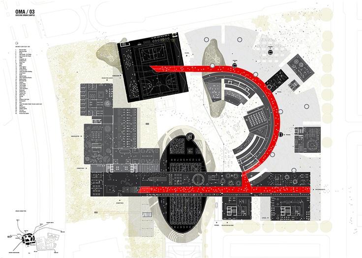 BOCCONI URBAN CAMPUS   OMA : Bloggy Mary – Le blog des étudiants en architecture