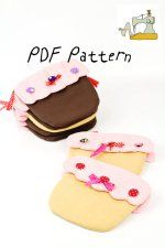 Cupcake Pouch PDF Sewing Pattern and Tutorial by EllieAfterPatterns