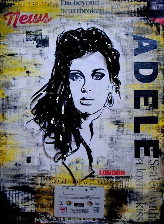 ADELE - I'm beyond heartbroken BASM - Art BASM