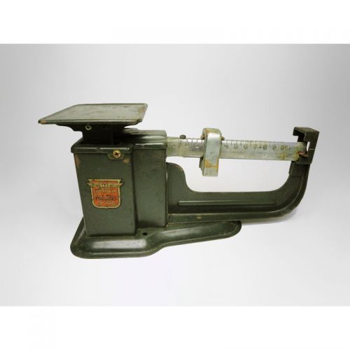 Vintage Green Triner Air Mail Accuracy 9 Ounce Table Mount Postal Scales For Sale if available