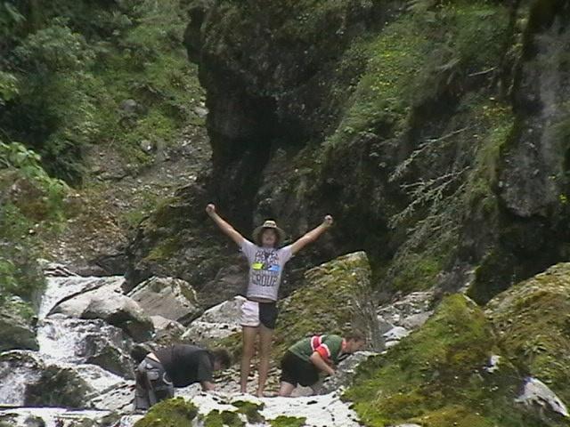 River crawl up the Ahuriri Valley #greatwalker