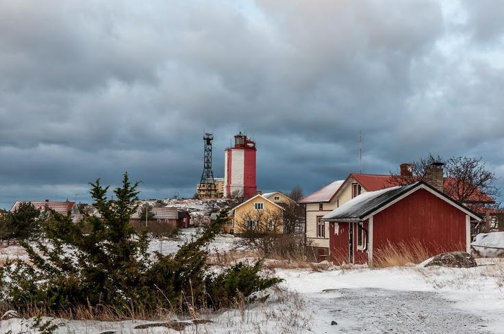 A Lighthouse - Utö island on Archipelago National Park, Finland