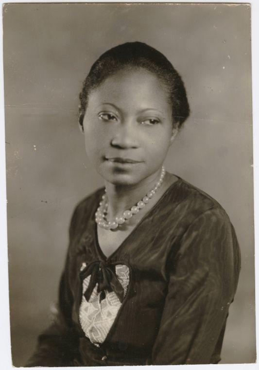 Augusta Savage, artist. 1930.