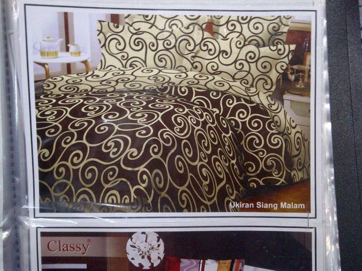 Motif M001 | Katun Panca (tekstil CVC) | sprei single: lebar 120, 1 bantal, 1 guling
