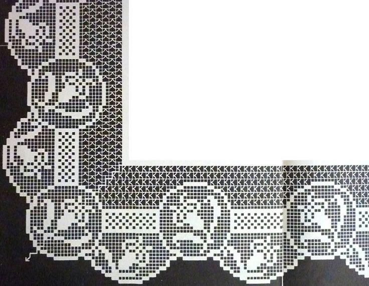 crochet em revista: barra crochet tulip