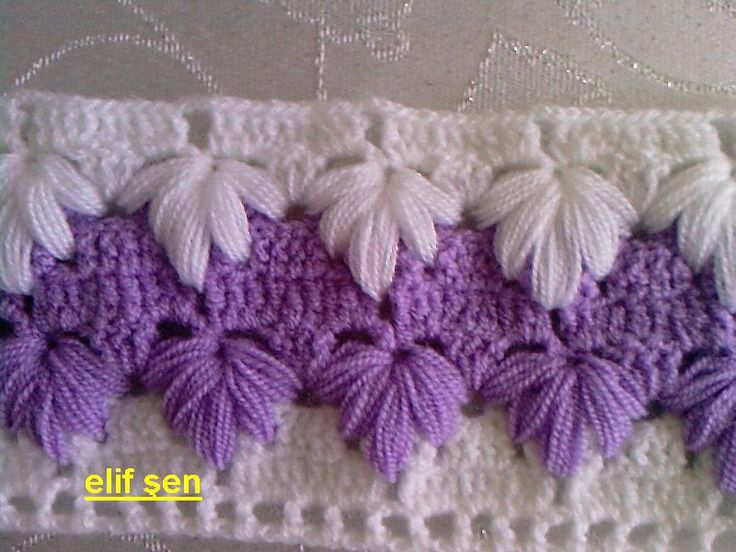 Beautiful crochet stitch!
