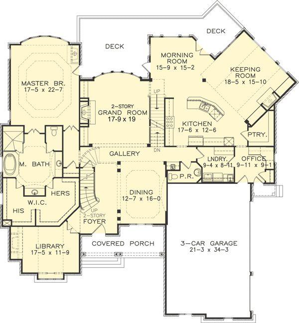 1343 Best Images About House Plans On Pinterest European