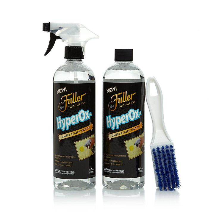 Fuller Brush Co. Stain & Spot Remover Kit with HyperOx Cleaner and Brush
