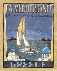 Kuvahaun tulos haulle vintage travel posters rhodes greece