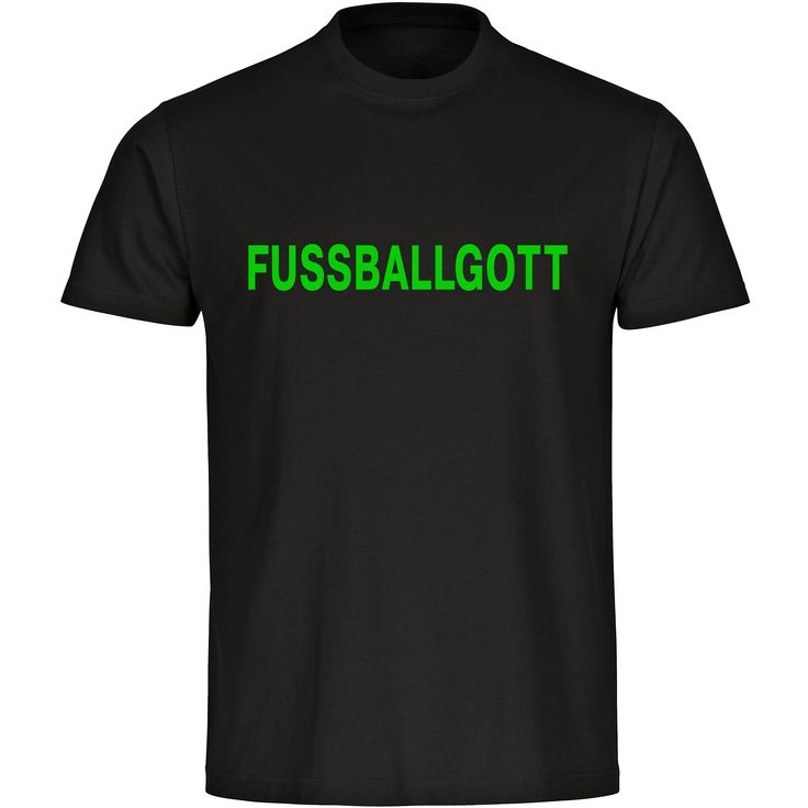 Was wäre König Fußball ohne einen Fußballgott. Wenn auch Du Dich für einen solchen hältst, dann ist dieses Shirt genau das richtige Outfit und sollte auf keinen Fall in Deinem Kleiderschrank fehlen. #shirt #funshirt #lustig #fußball #fußballgott #multifanshop