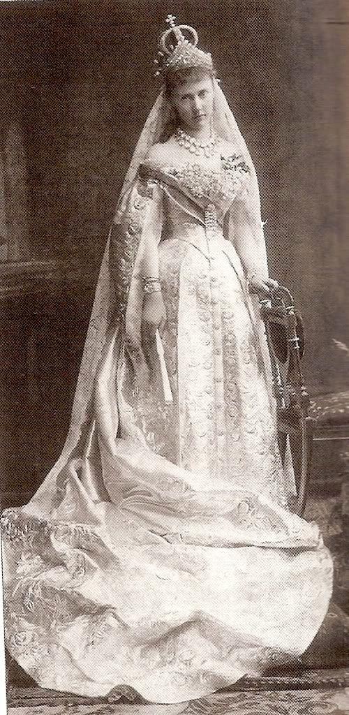 Russian Royal Wedding Dresses : Grand duchess elizaveta mavrikievna elisabeth of saxe