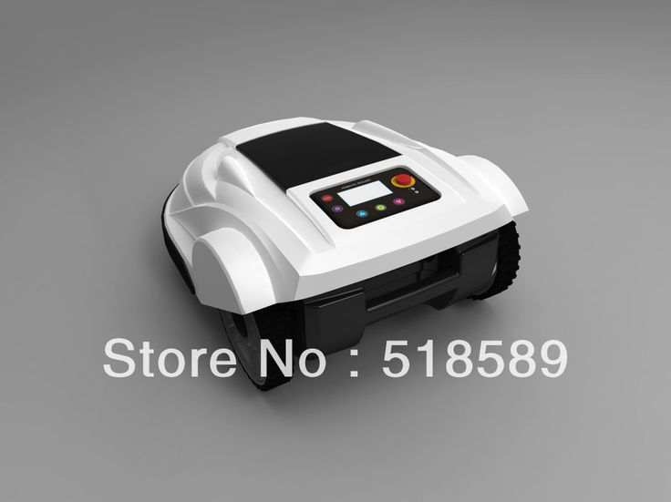 free shipping robot mower supplier, Lead-acid battery, auto recharge, intelligent grass cutter garden tool freeshipping