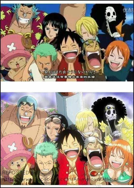 One Piece- Before and After | Random Stuff an Otaku Likes ...