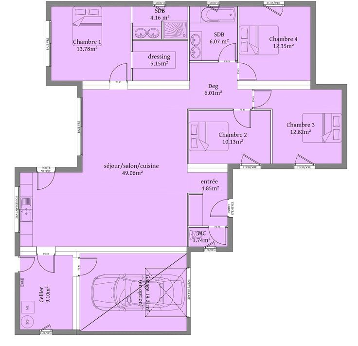 Plan maison contemporaine toit plat ob25 jornalagora for Plan maison cubique