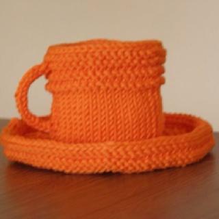 Fun knit Waldorf style toy