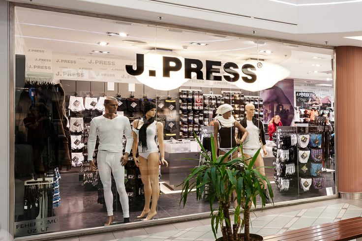 J.Press Fehérnemű - Mammut Budapest
