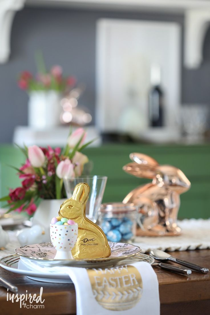 [ad] These Dove Chocolate bunnies are not only delicious, but they will also make a beautiful addition to your Easter table. Find them at your local Target. Save on your favorite treats with the Cartwheel app!