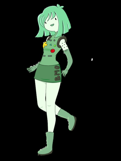 Beemo (not convinced BMo is a girl but either way this is cute)