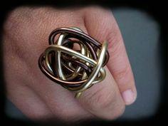 zelfgemaakte ringen aluminium - Google zoeken