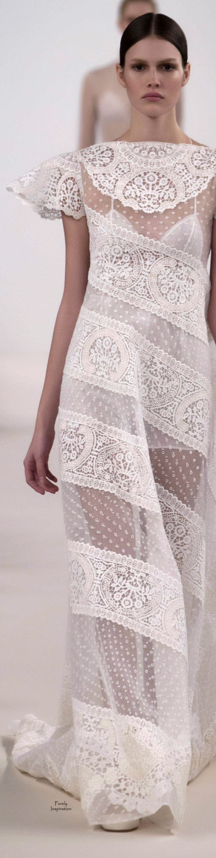 Valentino New York Haute Couture Fashion Show 2014 | Purely Inspiration