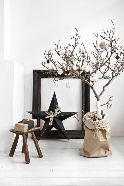 Scaapi Natural #Christmas #decorations - Photography and styling by Paulina Arcklin