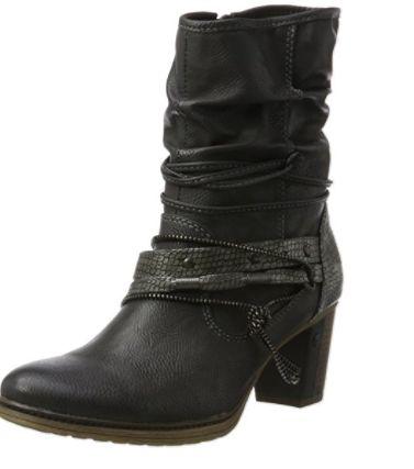 Bota negra Mustang #Botas #Calzado #Moda #Mujer #AmazonModa #Outfit #BotasMujer #BotinesMujer #Fashion #ModaotoñoInvierno