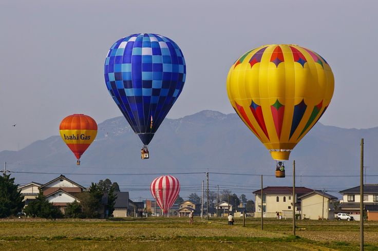 熱気球大会(砺波)