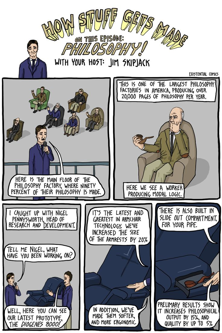 The Philosophy Of A Hashtag Strategy: How Philosophy Is Made - Existential Comics
