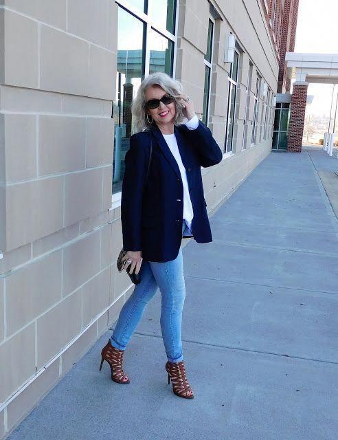 15 Business Casual Outfits für Damen über 50  #business #casual #damen #outfits | Outfit Ideen #fashionover4