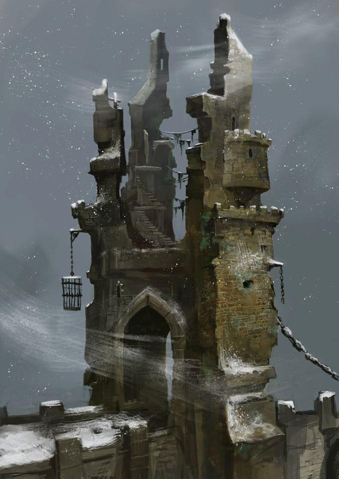 Troll Bridge concept art by Svetoslav Petrov.