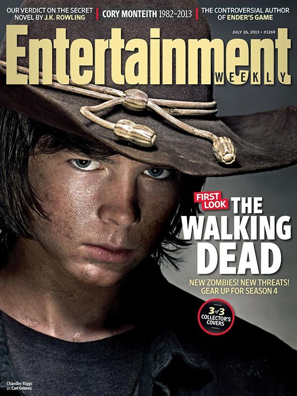 'The Walking Dead' Collector's Cover #2 featuring Carl Grimes (Chandler Riggs)