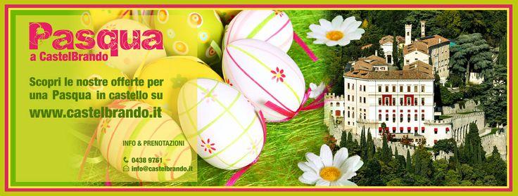 #Pasqua a #CastelBrando, pacchetti hotel e offerte speciali per la vostra Pasqua a corte! Info: http://bit.ly/Kl1aSD