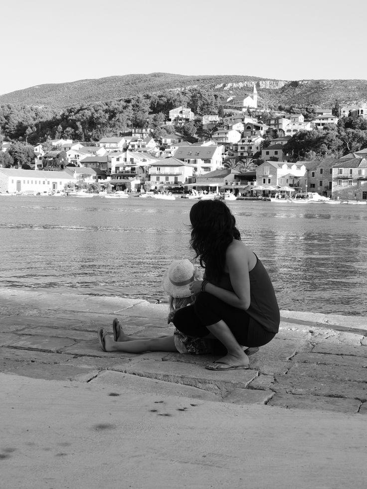 Hvar - Croatia 2012 me and my sister <3