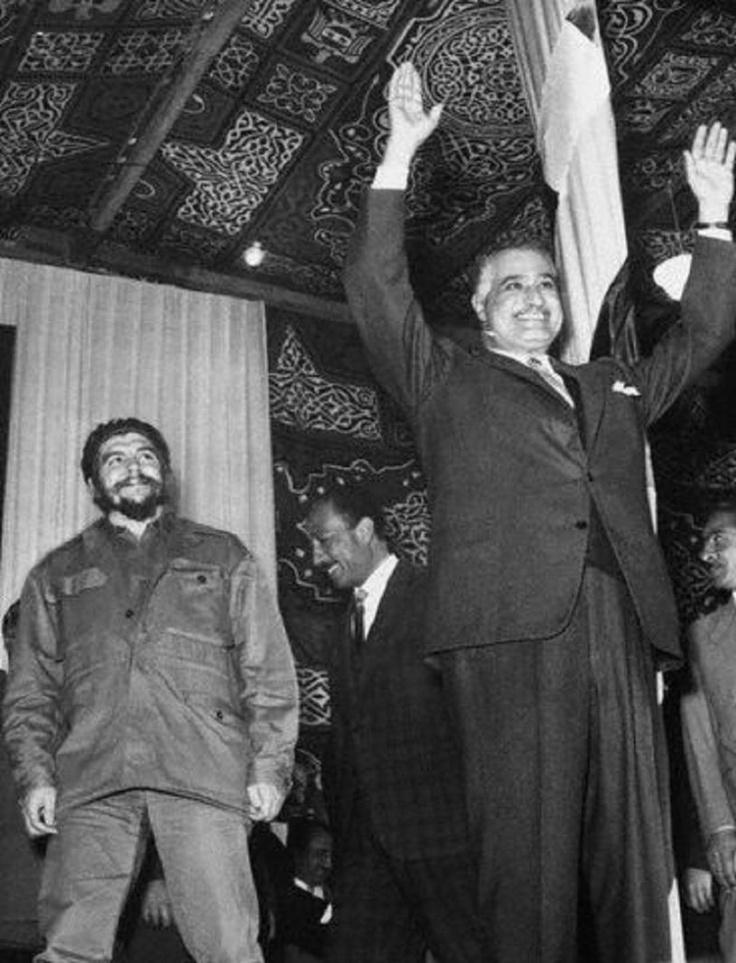 Gamal Abdel Nasser & Che Guevara