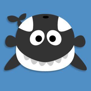 Masketeers Printable Masks: Printable Killer Whale Mask