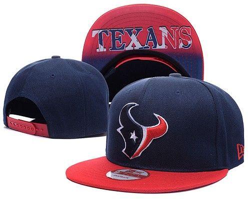 NFL Houston Texans Logo Stitched Snapback Hats 016