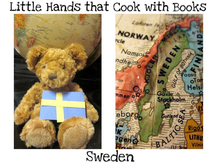 The Educators' Spin On It: Around the World in 12 Dishes-Activities, Recipes and Books About Sweden