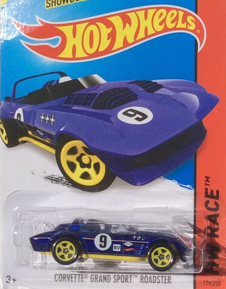 HotWheels Corvette Grand Sport Roadster Corvette grand