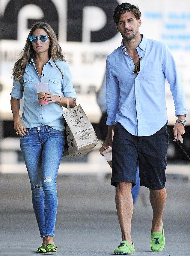 Perfectly matching couple