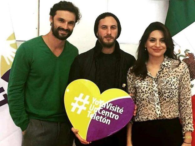 Ivan Sanchez, Ana Brenda y Sebastian Zurita estubieron en el CRIT en Mexico.