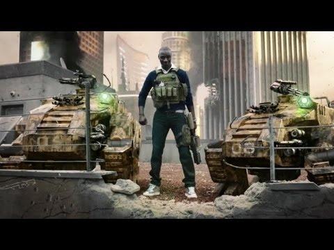 Call of Duty Black Ops 2 Trailer avec Omar Sy !