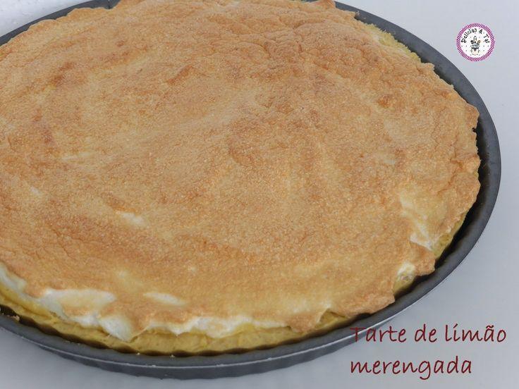 Delicias & Tal: Tarte de limão merengada