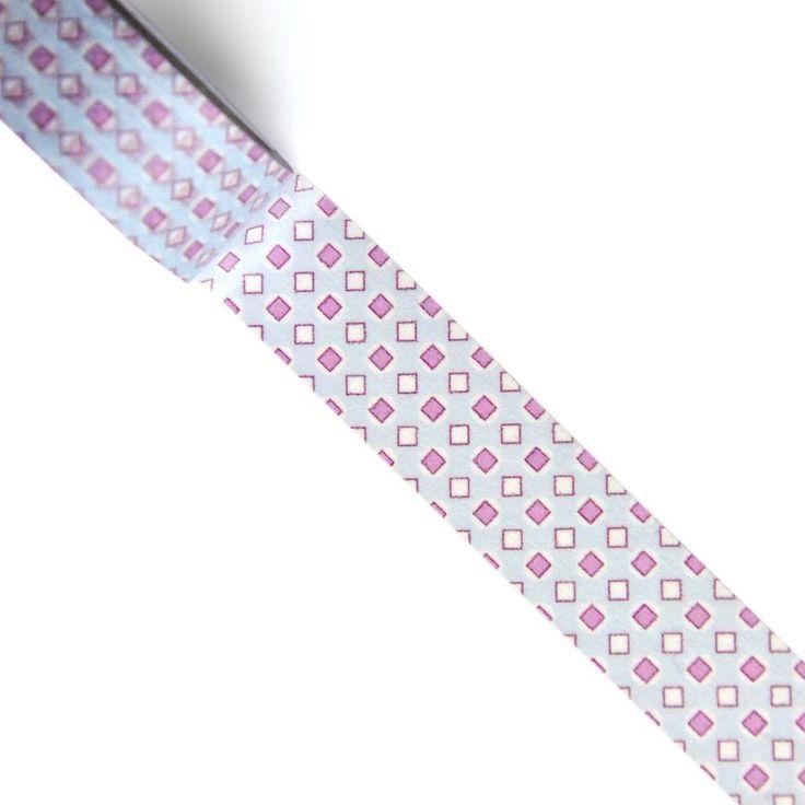 Pop Diamond Washi Tape | Design by Willwa