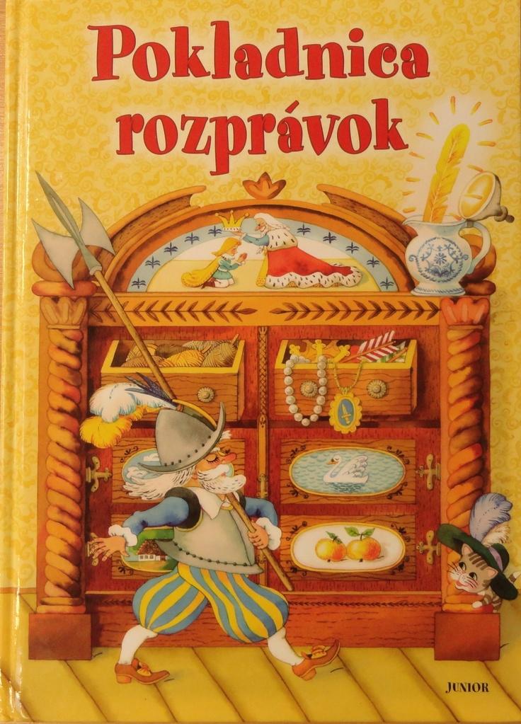 Adam's favourite book Pokladnica rozprávok.