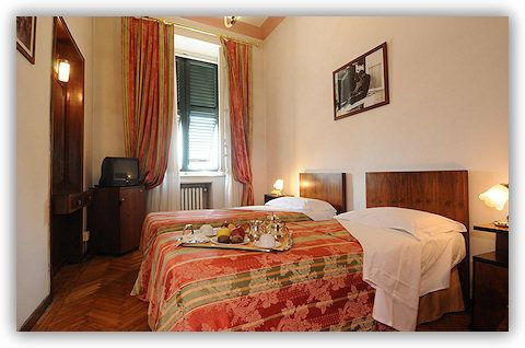 Room n. 15: the room where Chet Baker stayed during his visits to Lucca. The room is today dedicated to him. Chet Baker was a famous american trumpet player.